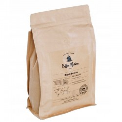 Kawa ziarnista Coffee Nation Brasil Santos 500 g