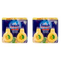 4 x Zapach Finish Odświeżacz do Zmywarki Lemon