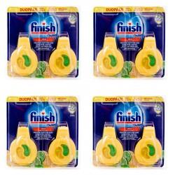 8 x Finish Zapach Odświeżacz do Zmywarki Lemon