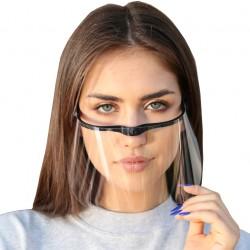 Przyłbica mini ochronna na nos i usta, maseczka