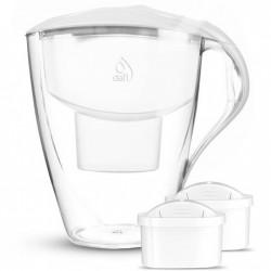 Dafi Dzbanek Omega 4 Litry + 2 Filtry Wkłady Unimax biały