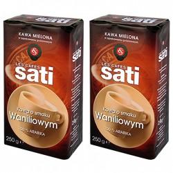 2 x 250 g Cafe Sati Waniliowa kawa mielona