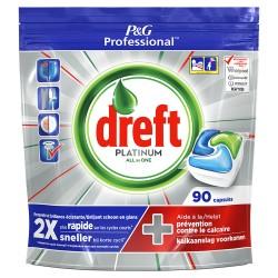Tabletki do zmywarki Dreft Platinium 90 sztuk