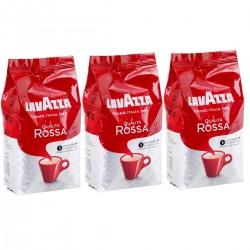 Zestaw Kawa Ziarnista Lavazza Qualita Rossa 3 x 1kg