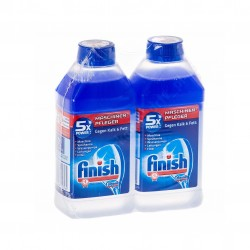 Czyścik do Zmywarki Finish 2 x 250ml