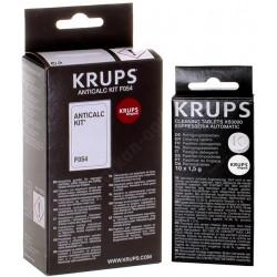 Zestaw Krups Odkamieniacz F054 + Tabletki XS3000