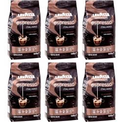 Zestaw Kawa Ziarnista Lavazza Caffe Espresso 6 x 1kg