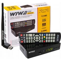 Dekoder Tuner TV Naziemnej DVB-T2 H.265 MAXX -WiFi
