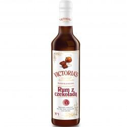 Victoria Cymes Rum z czekoladą syrop barmański do kawy i...
