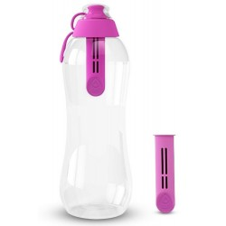 Butelka flamingowa DAFI 0,7L - 2 szt filtr wkład